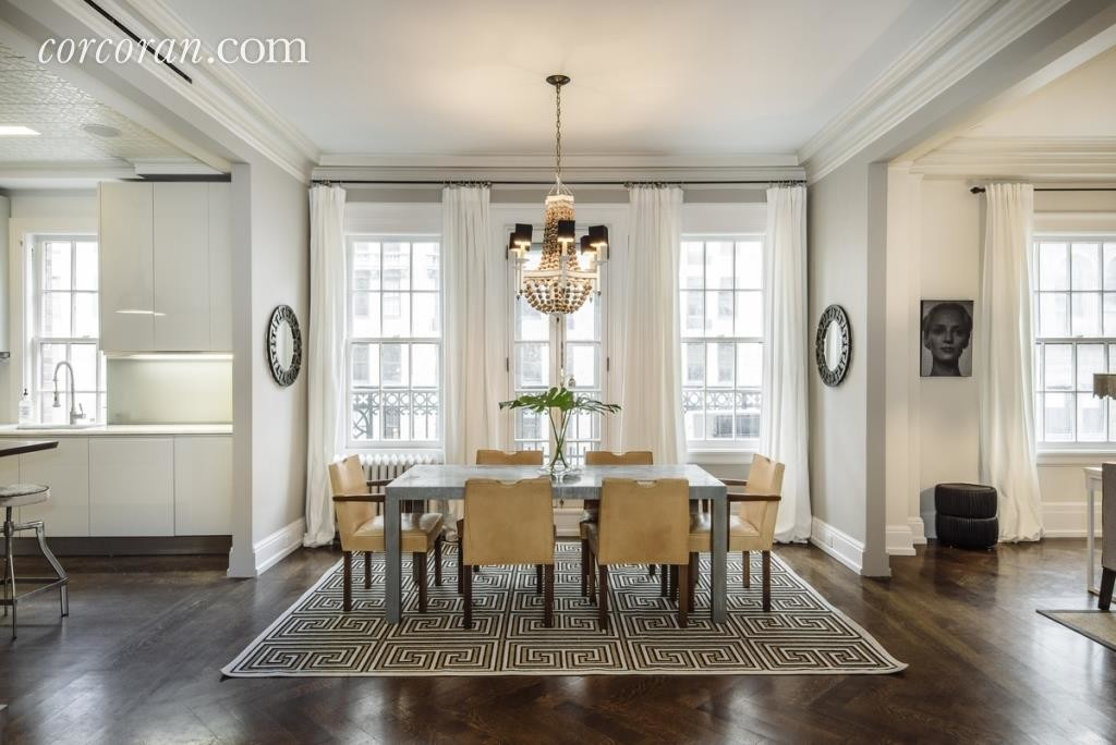 Uma Thurman's apartment in Manhattan