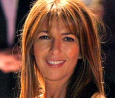 Nina Garcia at home in Manhattan