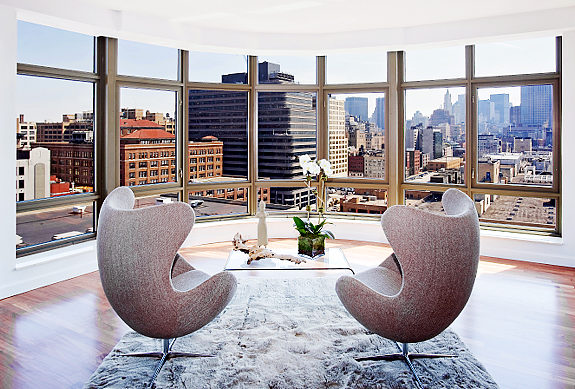 A room with a view in New York | Celebrity Cribs