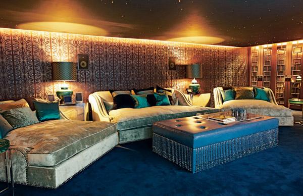 Tamara Ecclestone's crib in London | Celebrity Cribs