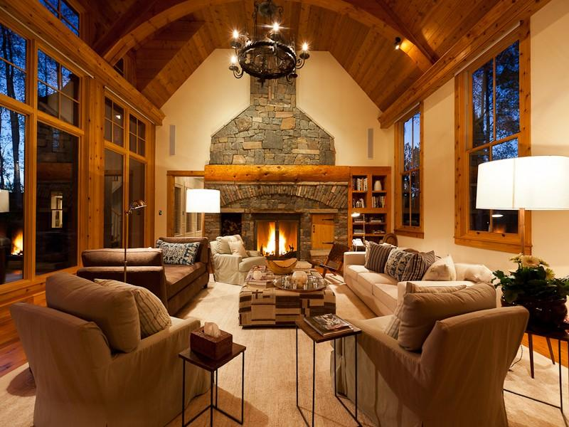 living room mansion jerry seinfeld s house in telluride cribs 10787